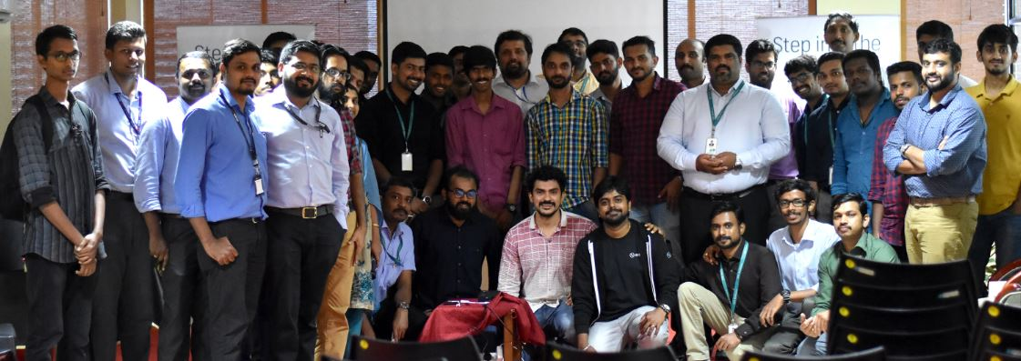 Elastic meetup group photo
