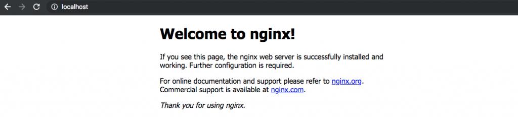 nginx index.html